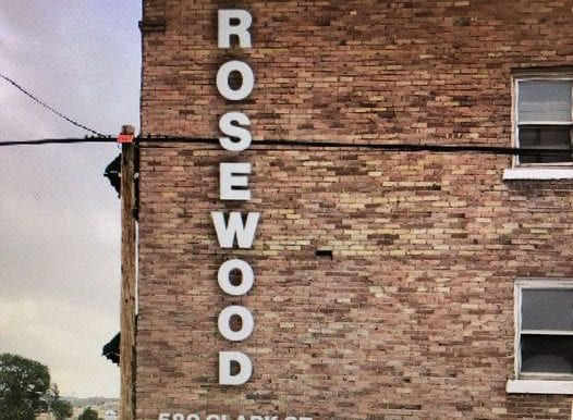 rosewood back